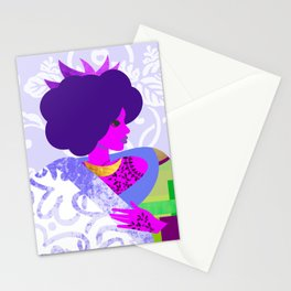 Queen's Robe Stationery Cards