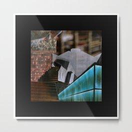 ARCHITEXTURE Metal Print