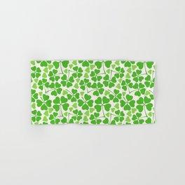 Happy St. Patrick's Day Pattern | Ireland Luck Hand & Bath Towel