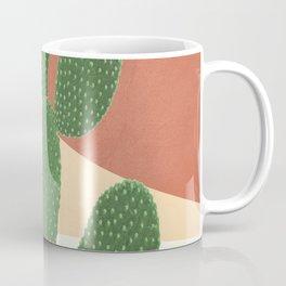 Abstract Cactus II Coffee Mug