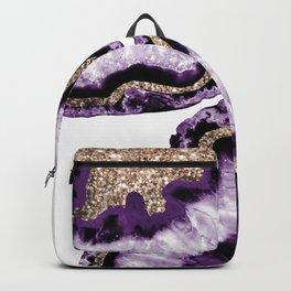 Yin Yang Agate Glitter Glam #14 #gem #decor #art #society6 Backpack