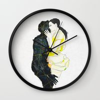 kiss Wall Clocks featuring KISS by SEVENTRAPS