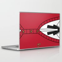 persona Laptop & iPad Skins featuring Persona 3 Akihiko Sanada Uniform by Bunny Frost
