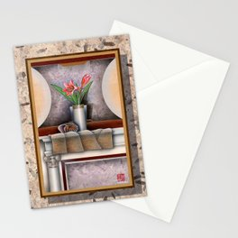 DW-007 Day Lilies With Nautilus Stationery Cards