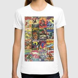 Comic Book Collage II T-shirt