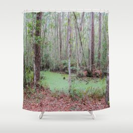 Submerge Your Worries Shower Curtain