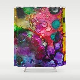 Ink 128 Shower Curtain