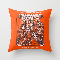 Future Bones Throw Pillow