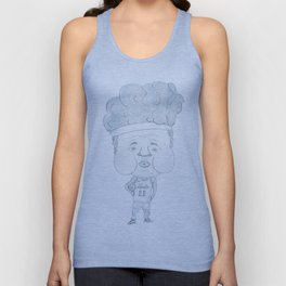Basketball player Girdi stronger (JPEG) Unisex Tank Top