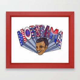 HopeBAMA Framed Art Print