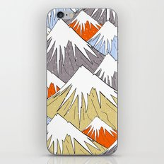 Away in the mountains iPhone & iPod Skin
