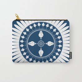 Botanical Ornament Carry-All Pouch