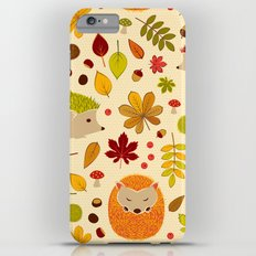 Hedghogs and Chestnuts Slim Case iPhone 6s Plus