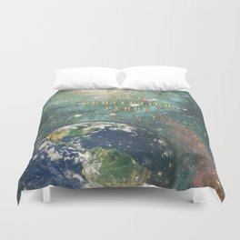 Our Earth Duvet Cover