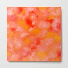 Cherries, Tangerines, and Cream Metal Print
