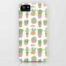 Cactus Plant Pots iPhone Case