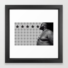 Ricky Ross Framed Art Print