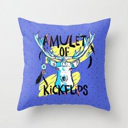 Amulet of Kickflips Throw Pillow
