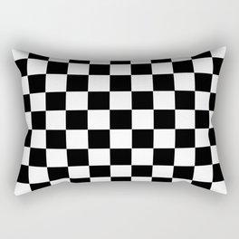 CHECKER PRINT Rectangular Pillow