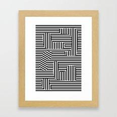 Taking all the Time Away Framed Art Print
