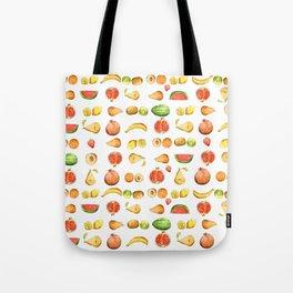 Un sacco di frutta Tote Bag