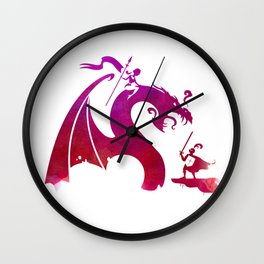 The Dragon Slayer Wall Clock