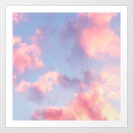 Whimsical Sky Art Print