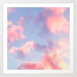 Whimsical Sky Art Print