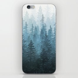 My Misty Secret Forest iPhone Skin