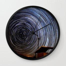 Star Trails Wall Clock