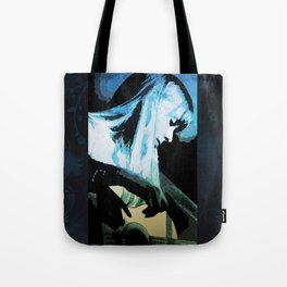 Joni Mitchell Watercolor Tote Bag