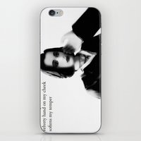 dana scully iPhone & iPod Skins featuring Dana by PowerShadowX
