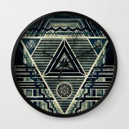 Tesla Portal Dark Wall Clock