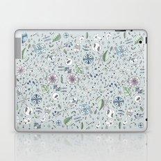 Globos en el jardín Watercolor Laptop & iPad Skin