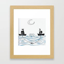 I Ship It Framed Art Print