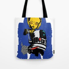 Lil' Blue Tote Bag