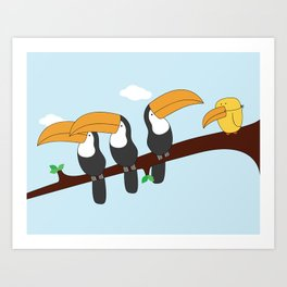 Alright Lads, what's happening? Art Print