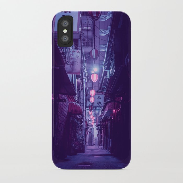 Tokyo Nights / One More Light / Liam Wong iPhone Case