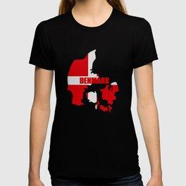 Denmark map T-shirt