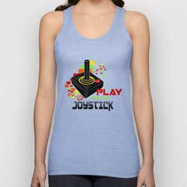 Play with My Joystick Unisex Tank Top