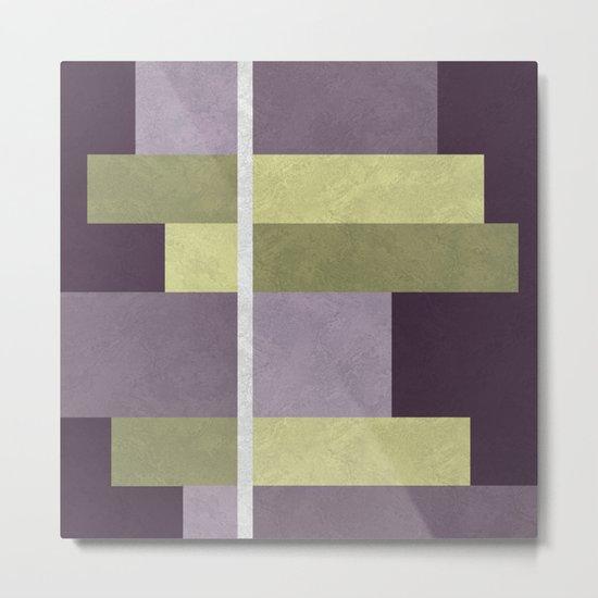 Geometric Marble 05 (abstract) Metal Print