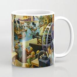 Classical Masterpiece 'Hollywood' by Thomas Hart Benton Coffee Mug