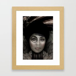DIGITAL PORTRAIT Framed Art Print
