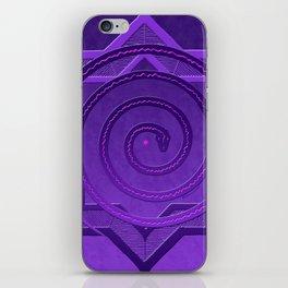 okataar purple mandala iPhone Skin