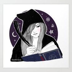 Witch study of Witchcraft Art Print