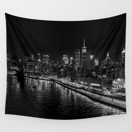 New York Nights Wall Tapestry