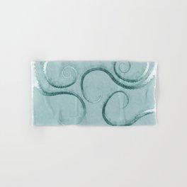 Octopus Tentacles Teal Hand & Bath Towel