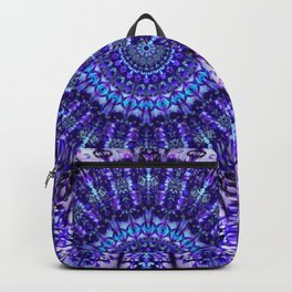Indulgence of lavendery details in the lace mandala Backpack