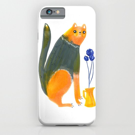 Kittens Like Flowers Too iPhone & iPod Case