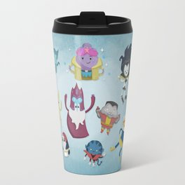 X-Men Adventures in The Land Of Ooo. Travel Mug